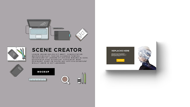 Free Infographic Scene Creator for Powerpoint Template Slide 3