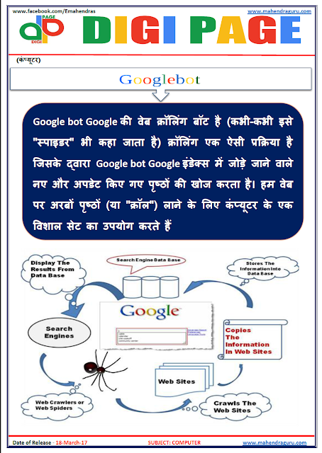 DP | GOOGLEBOT | 18 - MAR - 17 | IMPORTANT FOR SBI PO
