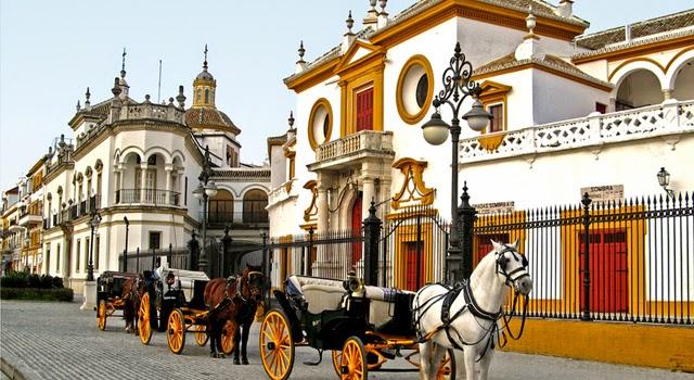 La plaza de toros de Sevilla, la Maestranza