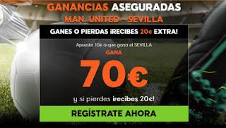 888sport ganancias aseguradas Manchester United vs Sevilla 13 marzo