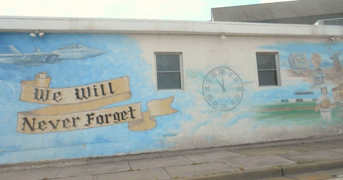 Pennsylvania Beyond Travel Blog We Will Never Forget Wall Mural