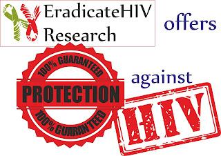 100% guaranteed protection from HIV virus. EradicateHIV. Eradicate HIV.
