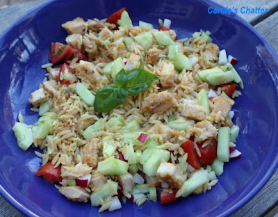Carole's Chatter: Chicken & Orzo Salad