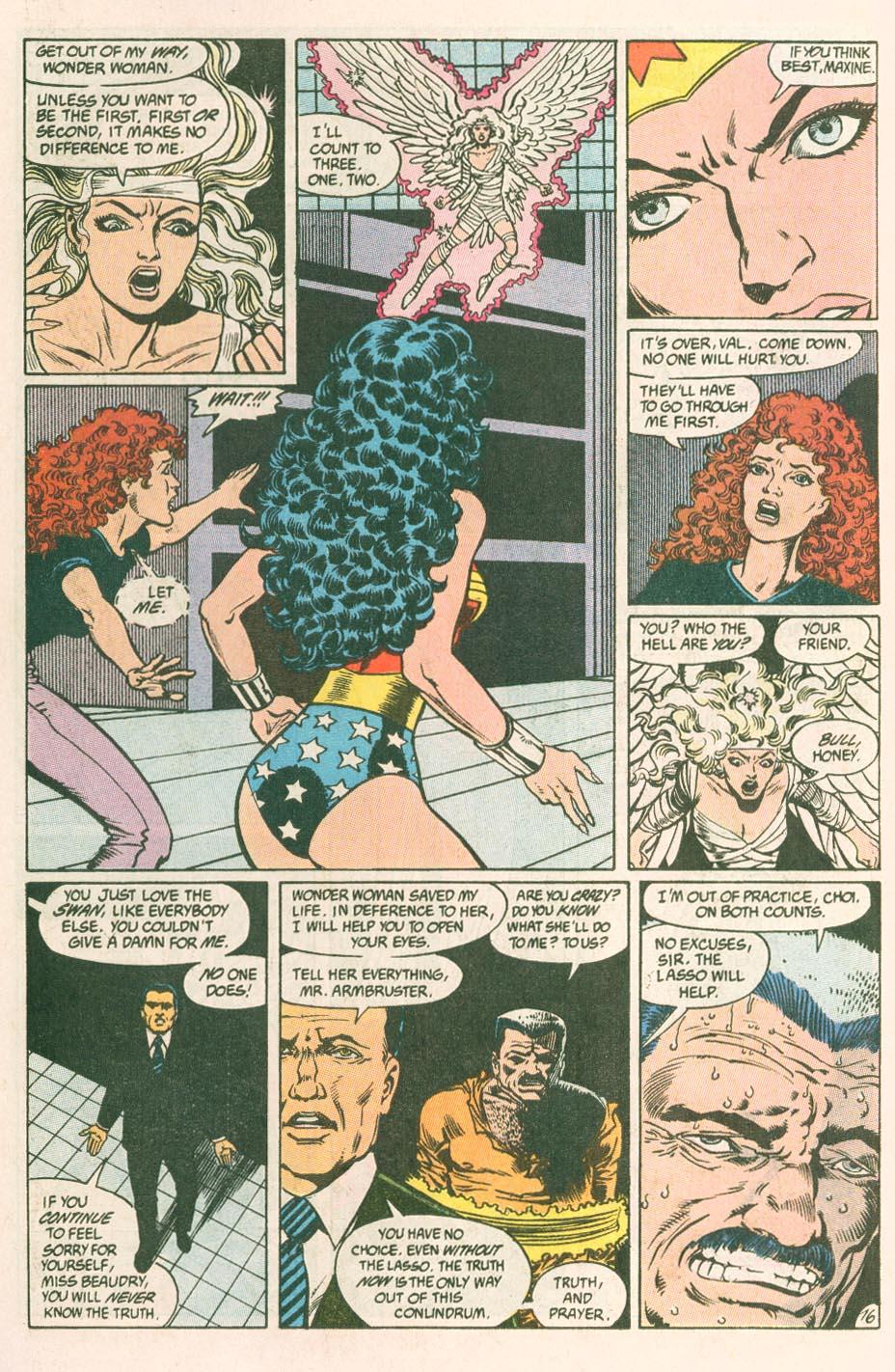 Read online Wonder Woman (1987) comic -  Issue #44 - 18
