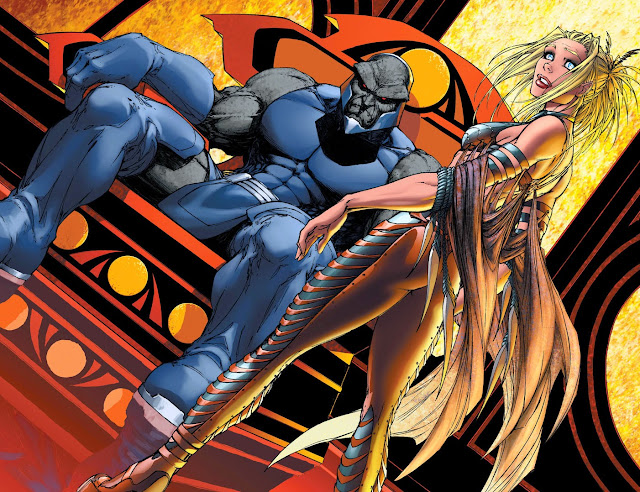 supergirl darkseid slave