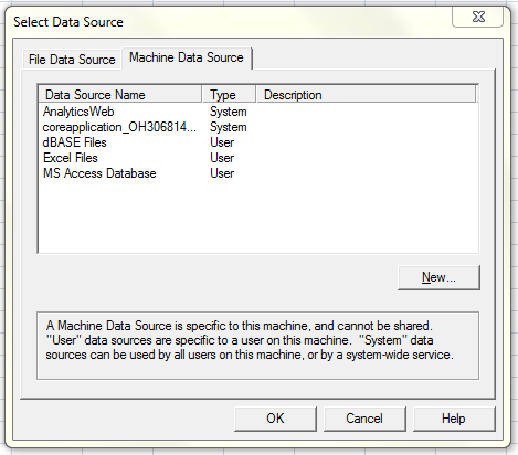 Vishal's blog: Creating reports in Excel using OBI server