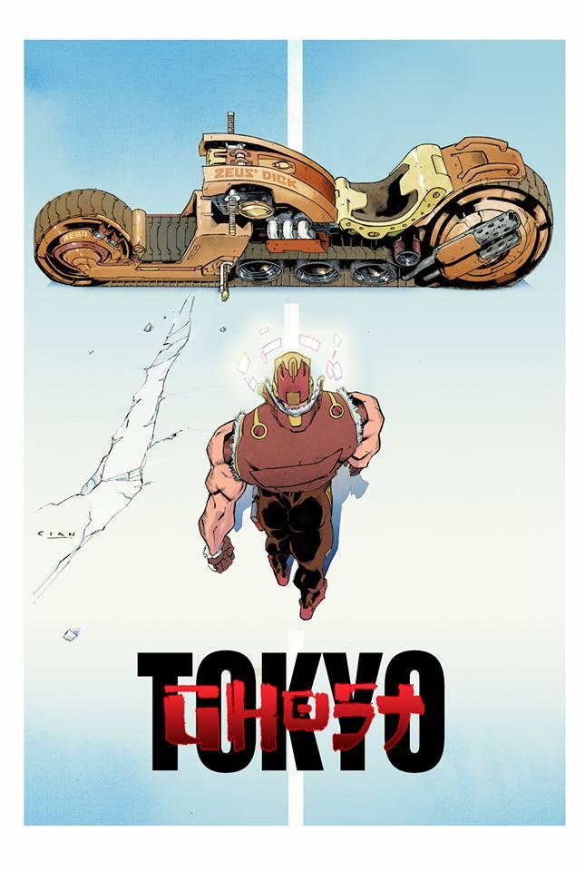 Tokyo Ghost vs Akira Mashup by Cian Tormey
