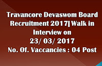 Jobs at Travancore Devaswom Board