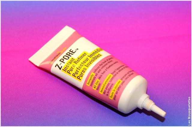 Goodskin Labs, Z-Pore perfecteur de teint pores invisibles - Blog beauté Les Mousquetettes