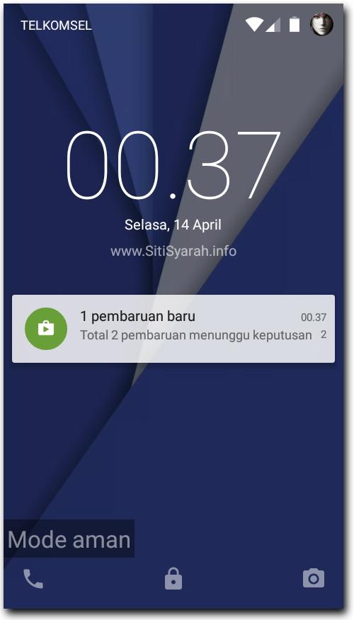 Masuk Mode Aman Android
