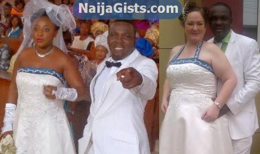 Photos: Ini Edo Wears Yomi Fabiyi's Wife Wedding Dress For