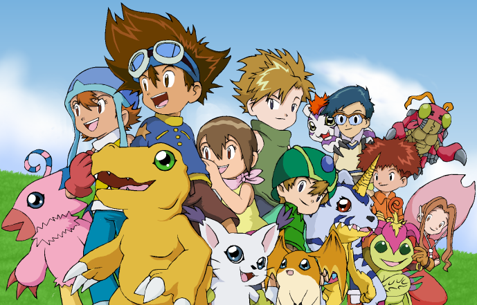 Ver Digimon Adventure Online