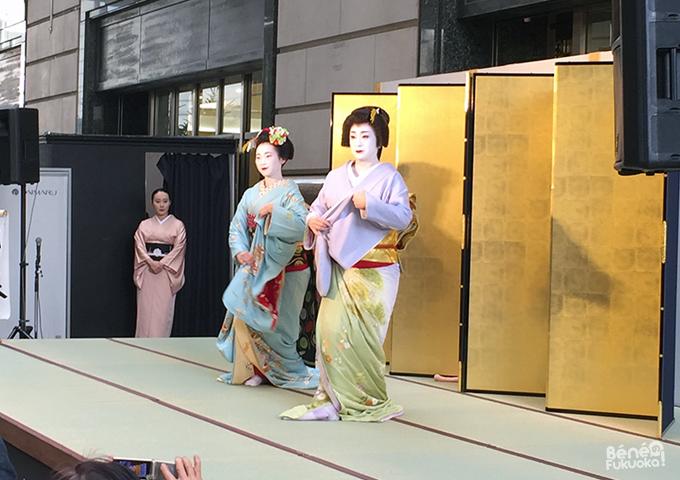 Geisha et maiko à Fukuoka
