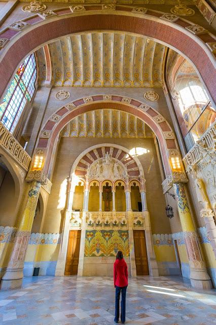 Recinte Modernista de Sant Pau Barcelona by Laurence Norah-2