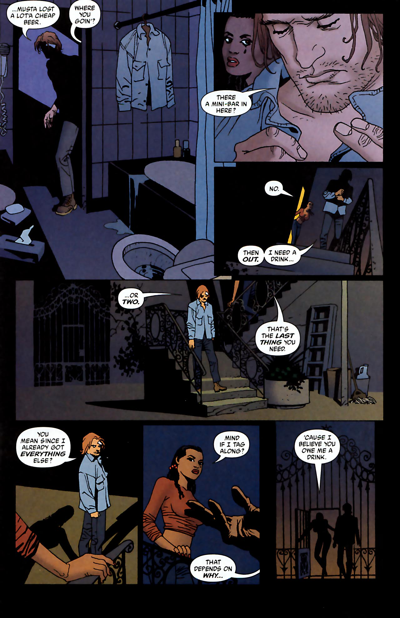 Read online 100 Bullets comic -  Issue #52 - 6