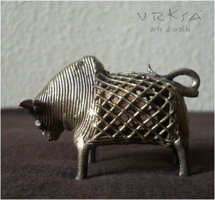 Vrksa Arts Amp Crafts Dhokra Bull