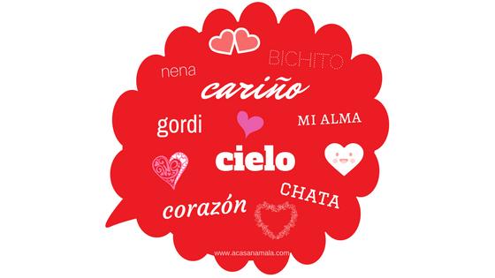 apelidos carinhosos na Espanha