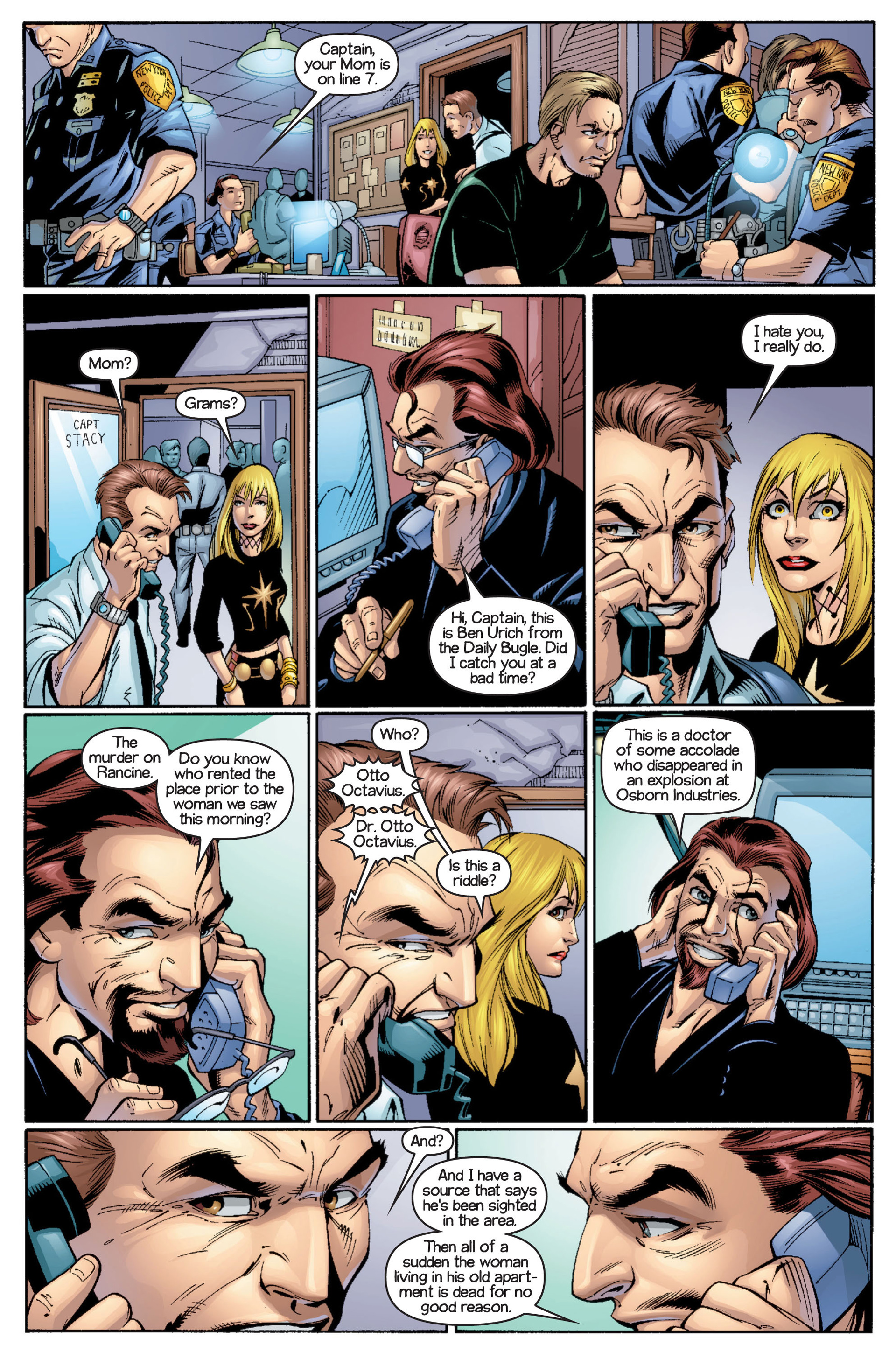 Read online Ultimate Spider-Man (2000) comic -  Issue #16 - 11
