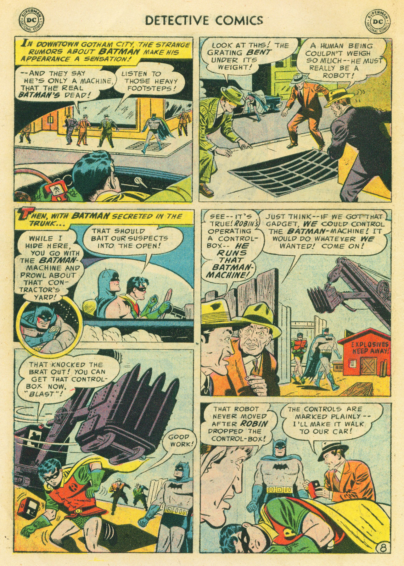 Detective Comics (1937) 224 Page 9