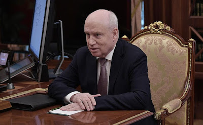 Chairman of the Executive Committe and Executive Secretary of the CIS Sergei Lebedev.