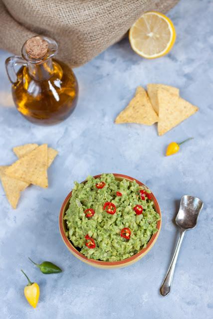 guacamole meksykanskie