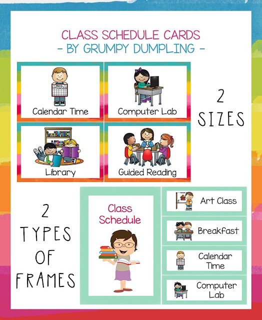 https://www.teacherspayteachers.com/Product/Class-Schedule-Cards-2377314