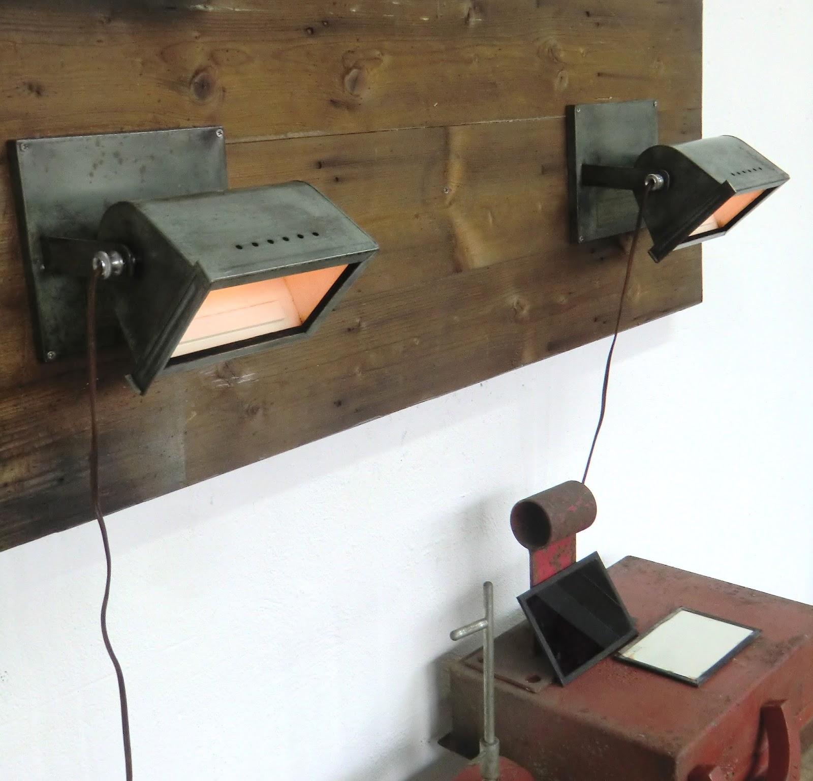 Wo And W 201 Collection Ancienne Paire De Lampes Appliques