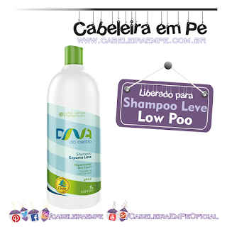 Shampoo Espuma Leve - DNA do Cacho - Salon Embelleze