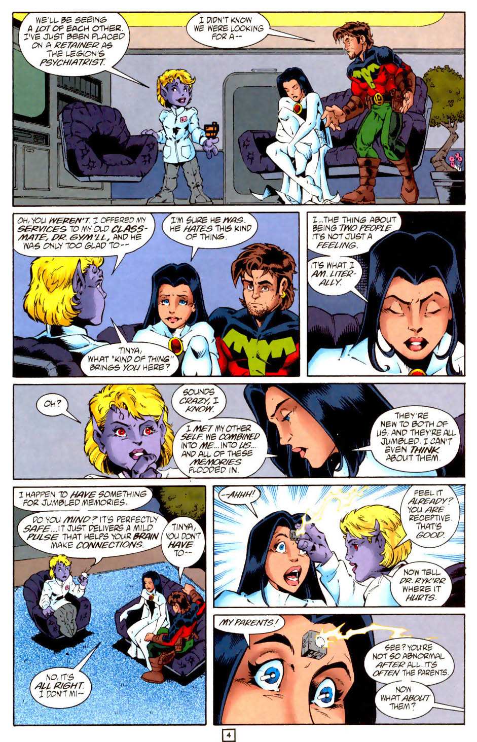 Legion of Super-Heroes (1989) 102 Page 16