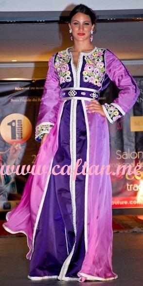 Caftan Mauve Claire: 400 800 | CaftanGallery.com