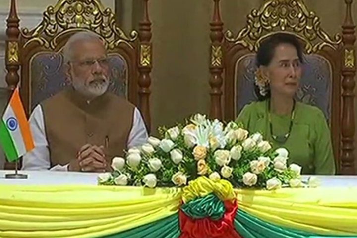 India will give free visa to Myanmar nationals