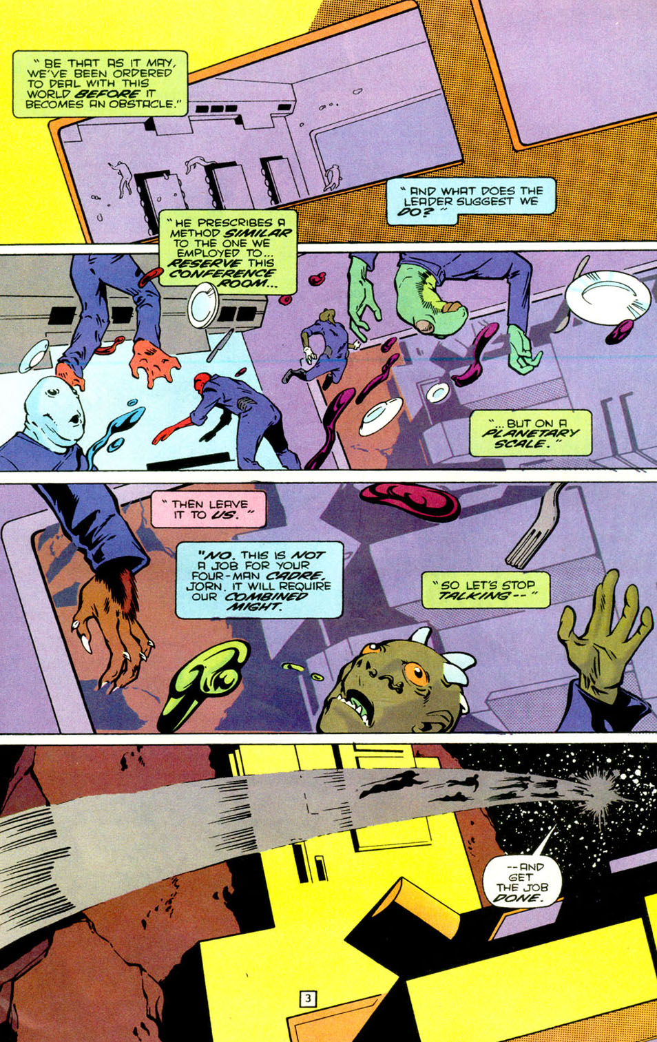 Legion of Super-Heroes (1989) 71 Page 4