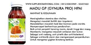 Manfaat madu GP HPAI mengatasi vitalitas impotensi