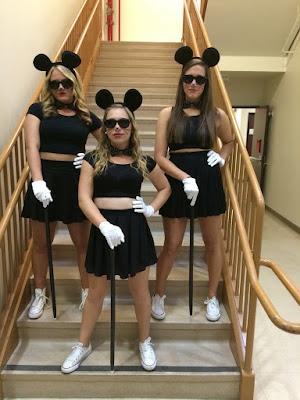 Disfraz Halloween Mickey Mouse amigas