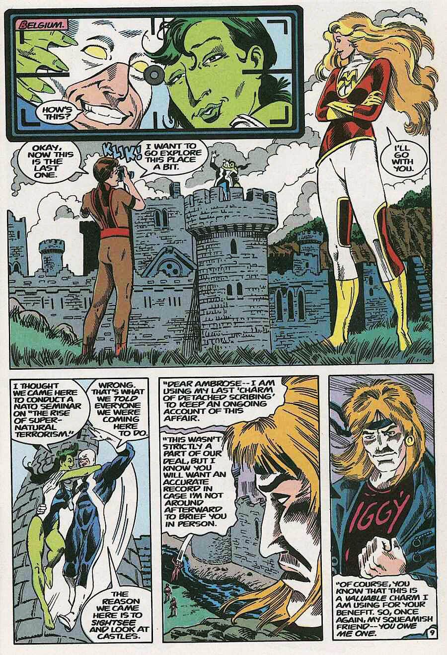 Elementals (1984) issue 19 - Page 11