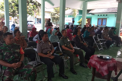 Kapolsek Mergangsan Hadiri Pembinaan Ideologi Pancasila dan Wawasan Kebangsaan di Pendopo Kecamatan