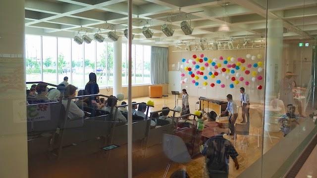 金沢海みらい図書館 交流ホール