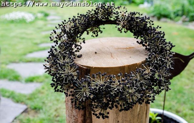 Dekorationsidee aus Naturmaterialien