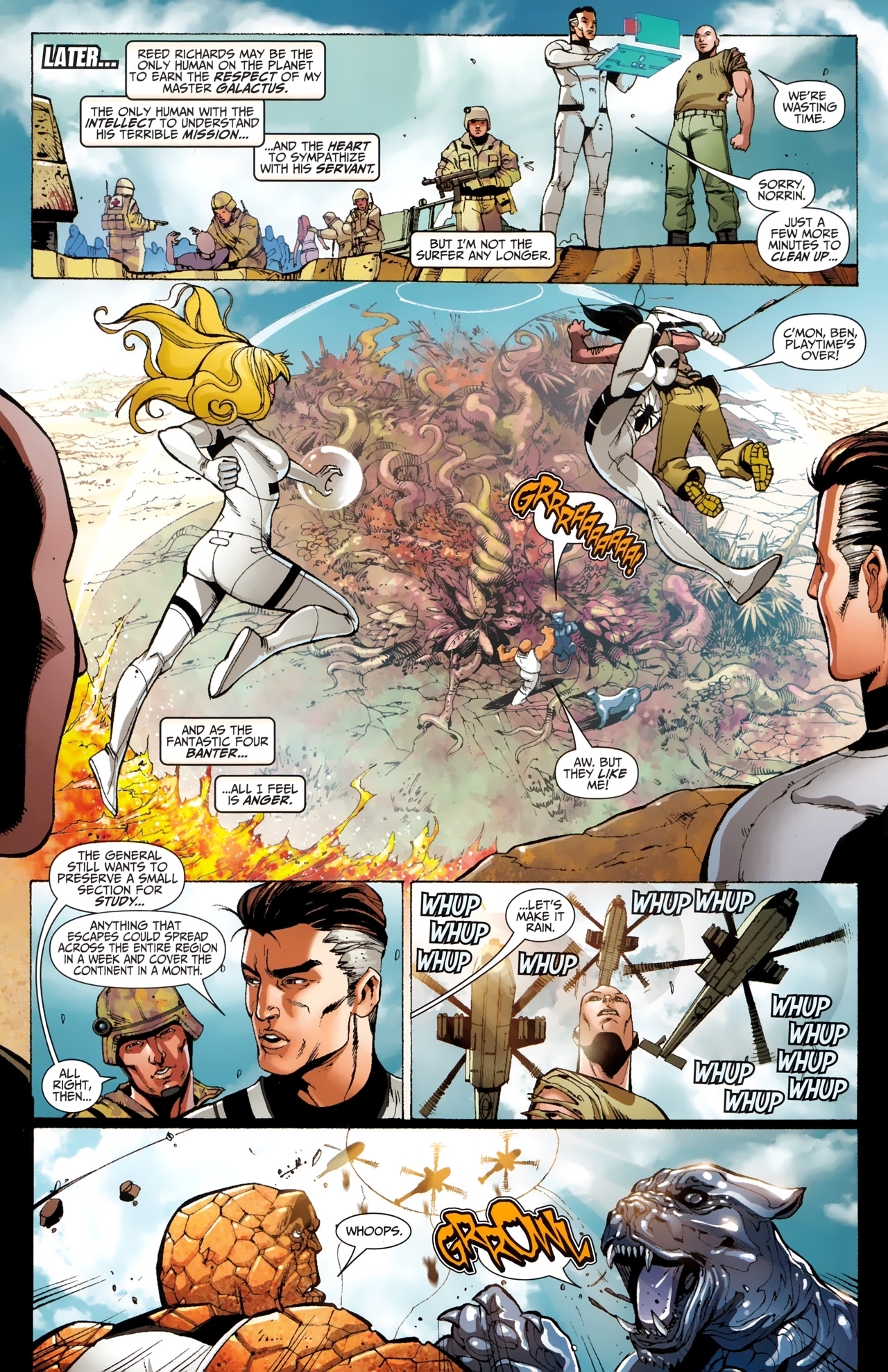 Read online Silver Surfer (2011) comic -  Issue #4 - 10