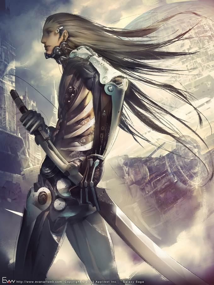 evan lee illustration warrior