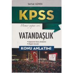 657 Yayınları KPSS Vatandaşlık Konu Anlatımlı (2017)