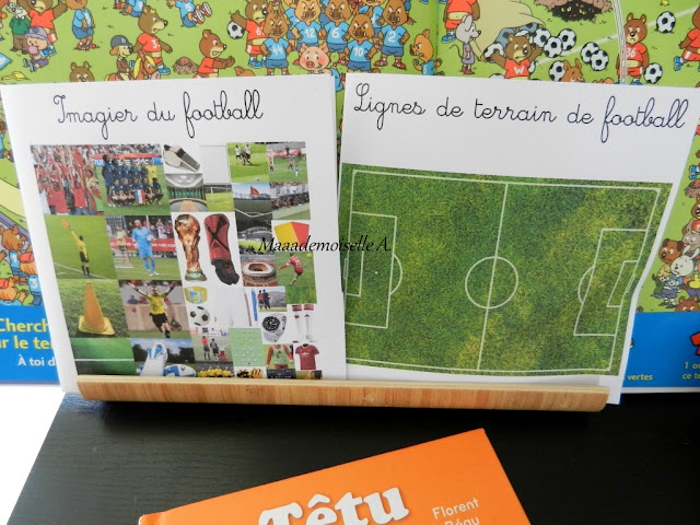 || Table thématique : Le football - Cartes de nomenclature Maaademoiselle A. Shop