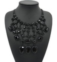 http://www.stylemoi.nu/black-stone-teardrop-tiered-necklace.html