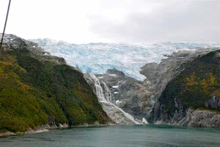 Romanche Glacier Beagle Channel Chile