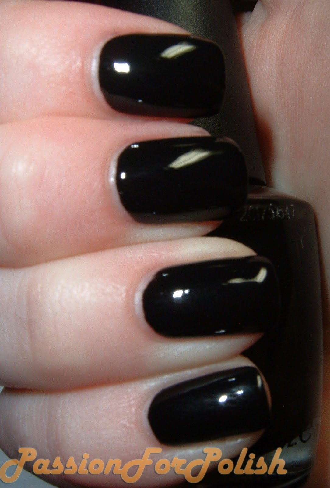 Opi In The Spot Light Pink: PassionForPolish: OPI Black Onyx