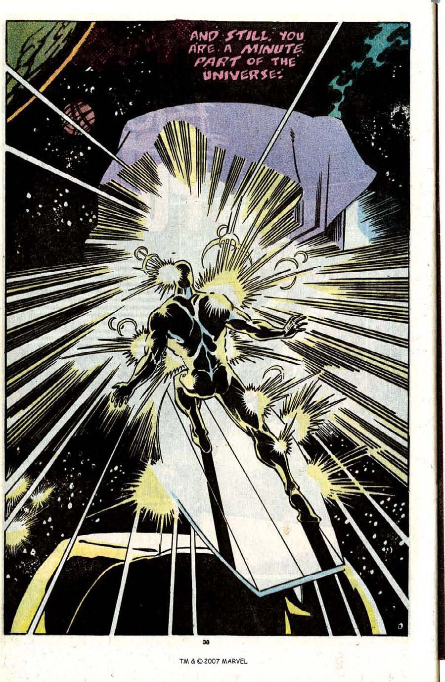 Read online Silver Surfer (1987) comic -  Issue #31 - 40