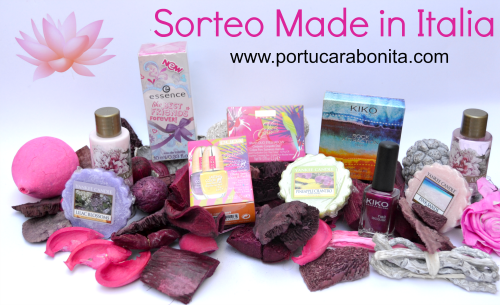 sorteo lote de productos made in milano