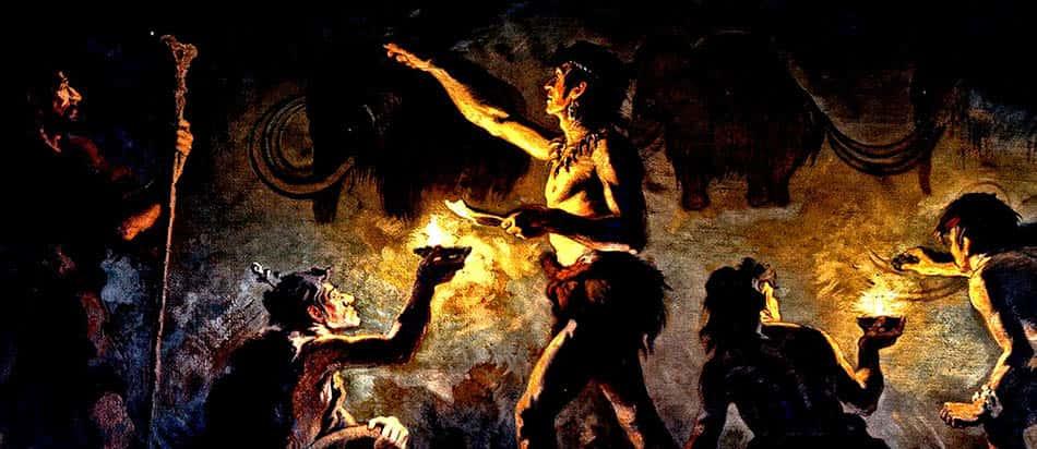 Cro-magnon,Cro-magnon insanı, Bilimsel, Cro-magnon insanlarının keşifleri,Tarihteki ilk kandil,Cro-magnon ve ışık,A, Antik tarih, Mağara insanlarının keşifleri,Antik çağda ışık