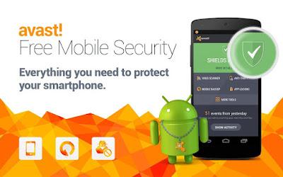 Avast Mobile Security Antivirus Terbaik Versi Terbaru Untuk HP Android