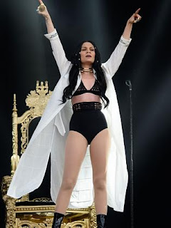 Jessie J hits the stage in London